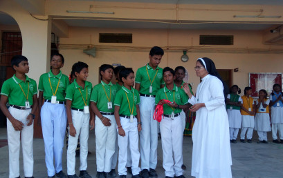 Sports Day Medal Distribution