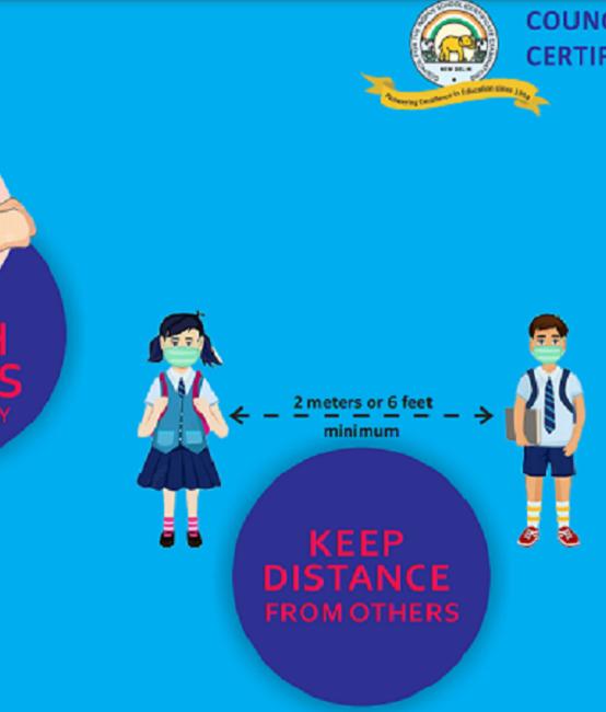 ICSE COVID-19 Prevention Campaign